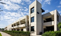 Pacific Arts Plaza Parking Building; Costa Mesa, CA – 356 spaces, 3 levels