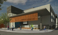 CSU Sacramento, UU Expansion North - 83,000 sf expansion of existing 3-story operating University Union.