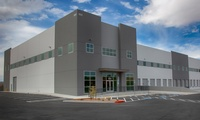 The 4 G's Warehouse is a 46,250 SF tilt-up gray shell warehouse with 16 loading docks and 4 drivethrough doors.
