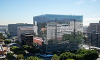 New design-build federal courthouse project featuring 24 courtrooms and 32 justice chambers.