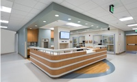 Sharp Mary Birch - Swinerton modernized and reconfigured the NICU, WACU, patient rooms, triage, pharmacy, and labs, as well as performing major MEP system upgrades in this busy hospital.
