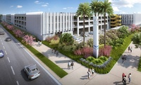 Intermodal Transportation Facility – West (ITF-West) Parking Structure & Mobility Hub – This progressive design-build project at LAX will provide a four-story parking structure with 4,500 stalls.