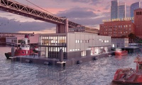 Fireboat Station No. 35 – Led by the Swinerton-Power Joint Venture Design-Build team, the new Fireboat Station No. 35 at Pier 22 ½ is currently under construction and will be a two-story, 15,000-square-foot fireboat station built on top of a steel float.